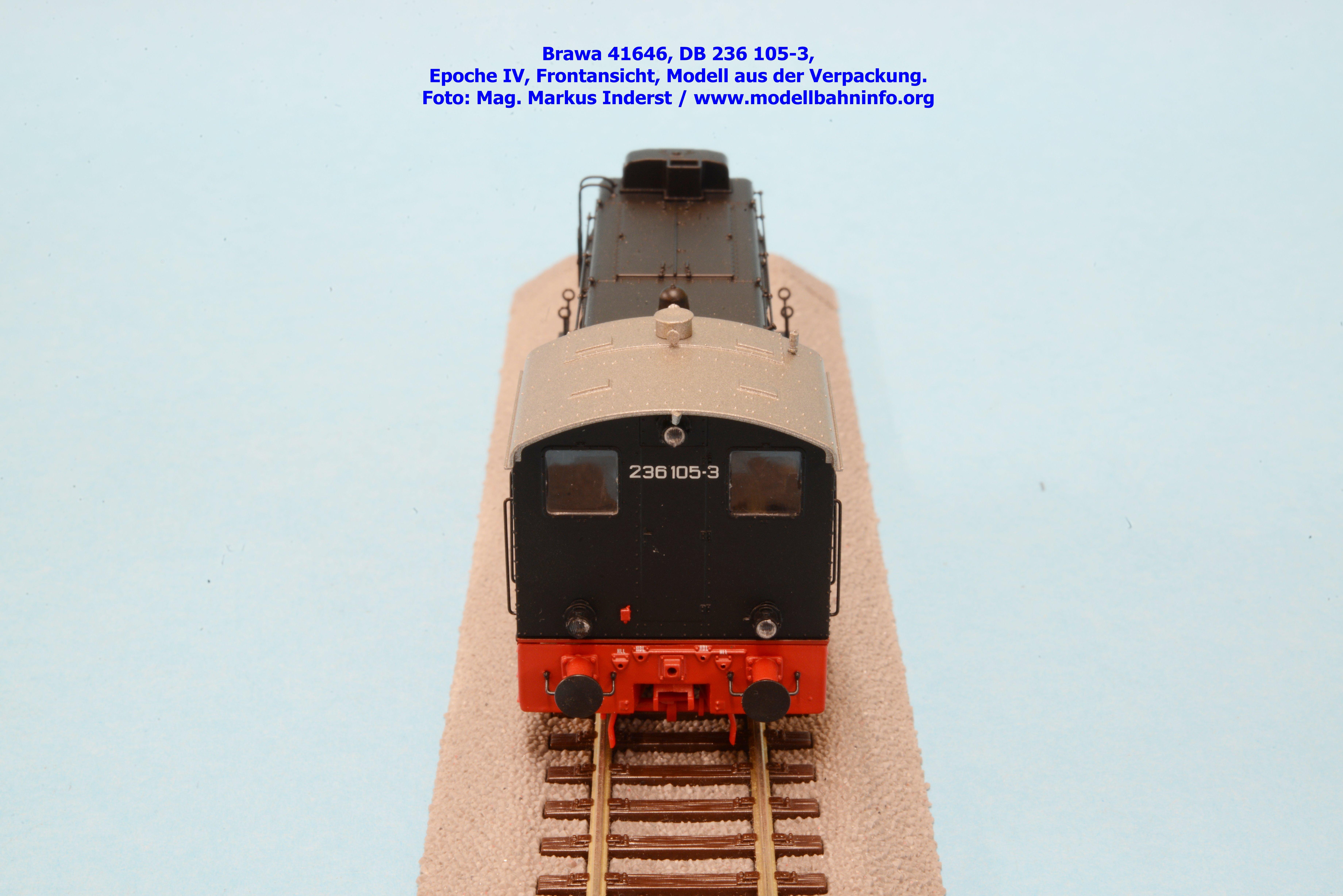Brawa 41604 / 41632 / 41642 / 41646: DB-Baureihe V 36