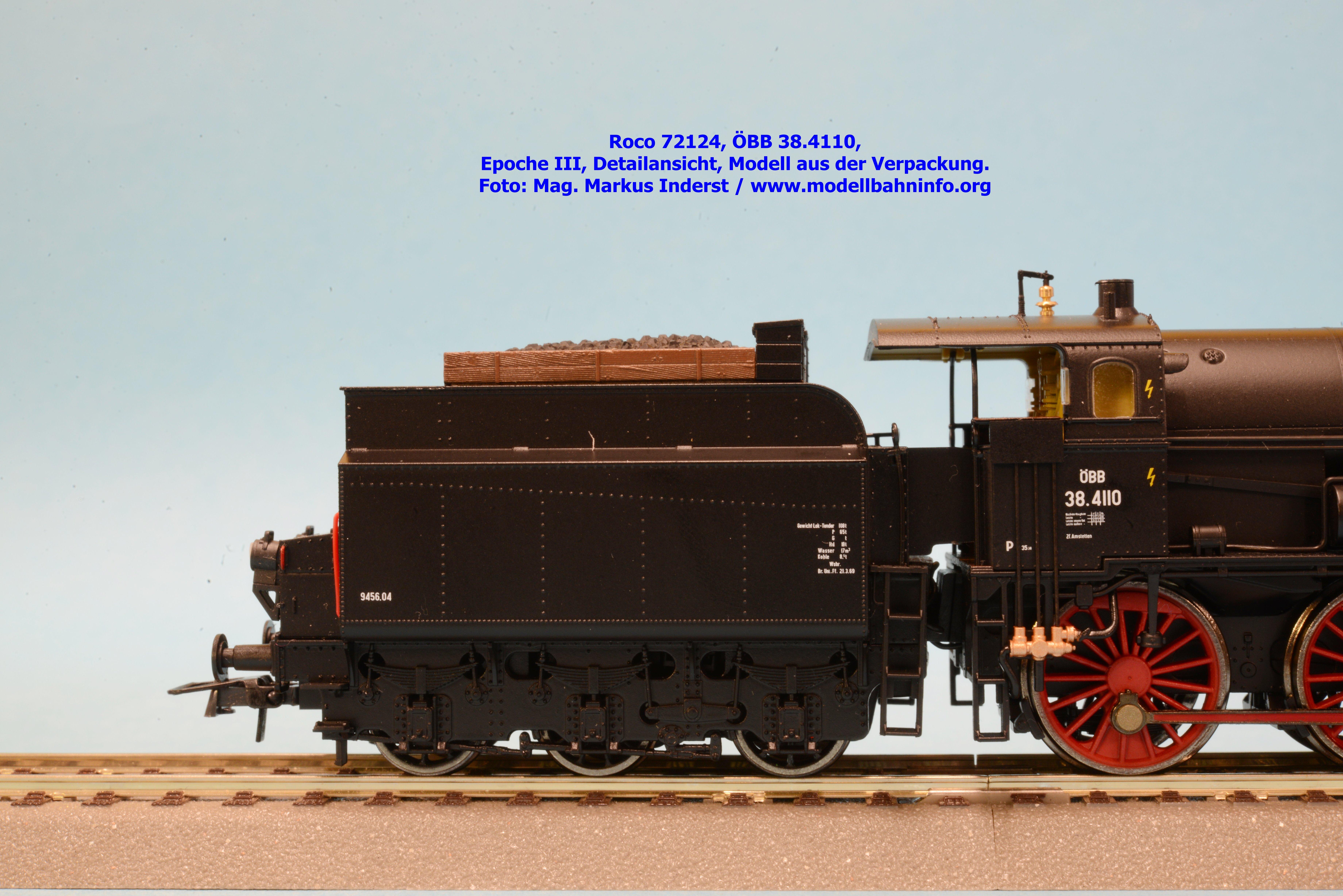 Roco 72124: ÖBB-Reihe 38